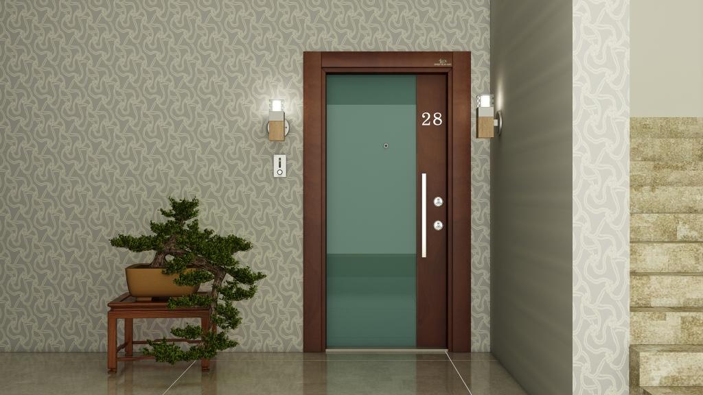 ECK Emek الصلب الباب